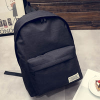 Men's black Backpack