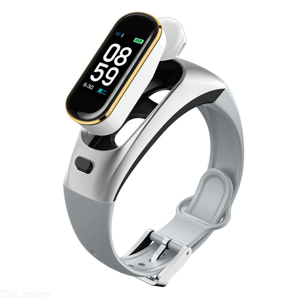 2-in-1 Bluetooth Headset Smart Bracelet Watch