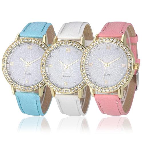 Rhinestones Women's Wrist Watch