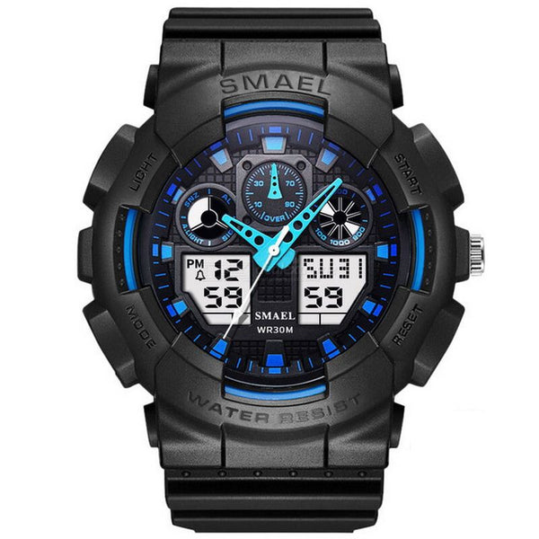 Men Waterproof Military Watch