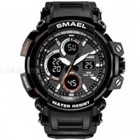 Men's Waterproof LED Watch