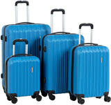 Murtisol Travel 4 Pieces ABS Luggage Set