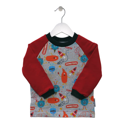"Pullover Plapperfrosch ""Monster Party"""