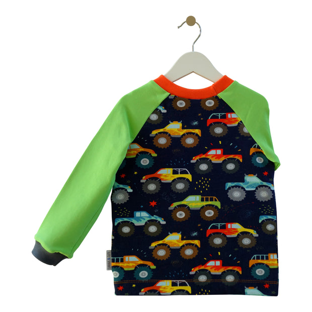 Pullover Plapperfrosch Monstertrucks