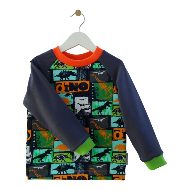 Pullover Plapperfrosch coole Dinos