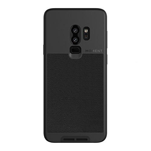 Galaxy S9+ Case || Moment Photo Case in Black Canvas - Thin, Protective, Wrist Strap Friendly case for Camera Lovers. - Pro Travel Gear ShopWirelessMoment