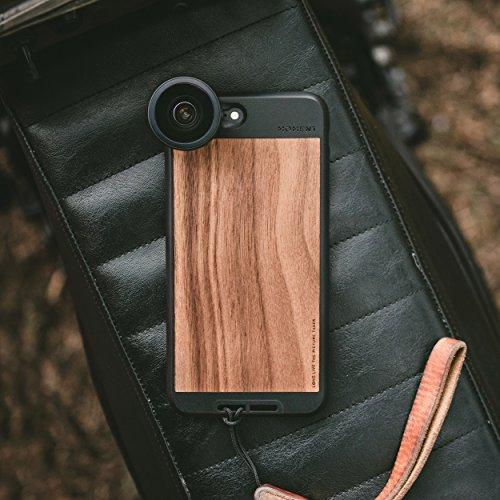 iPhone 8 Plus/iPhone 7 Plus Case || Moment Photo Case in Walnut Wood - Thin, Protective, Wrist Strap Friendly case for Camera Lovers. - Pro Travel Gear ShopWirelessMoment