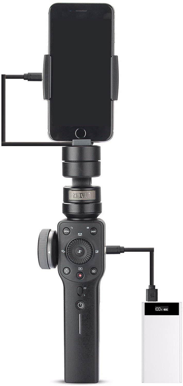 Zhiyun Smooth 4 3-Axis Handheld Gimbal Stabilizer for Vlogging/Youtube - Pro Travel Gear ShopGimbalzhi yun