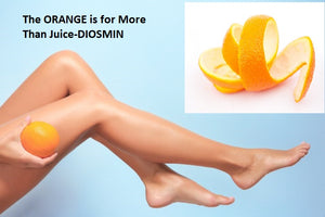 The ORANGE is for More Than Juice-DIOSMIN Protects the Veins and Beyond - By Dallas Clouatre, PhD