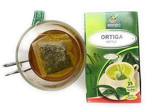 Nettle Leaf | Herbal Tea 100% Natural. Support a Healthy Urinary Tract and Naturally Cleanse Prostate. ( 25 Tea Bags)