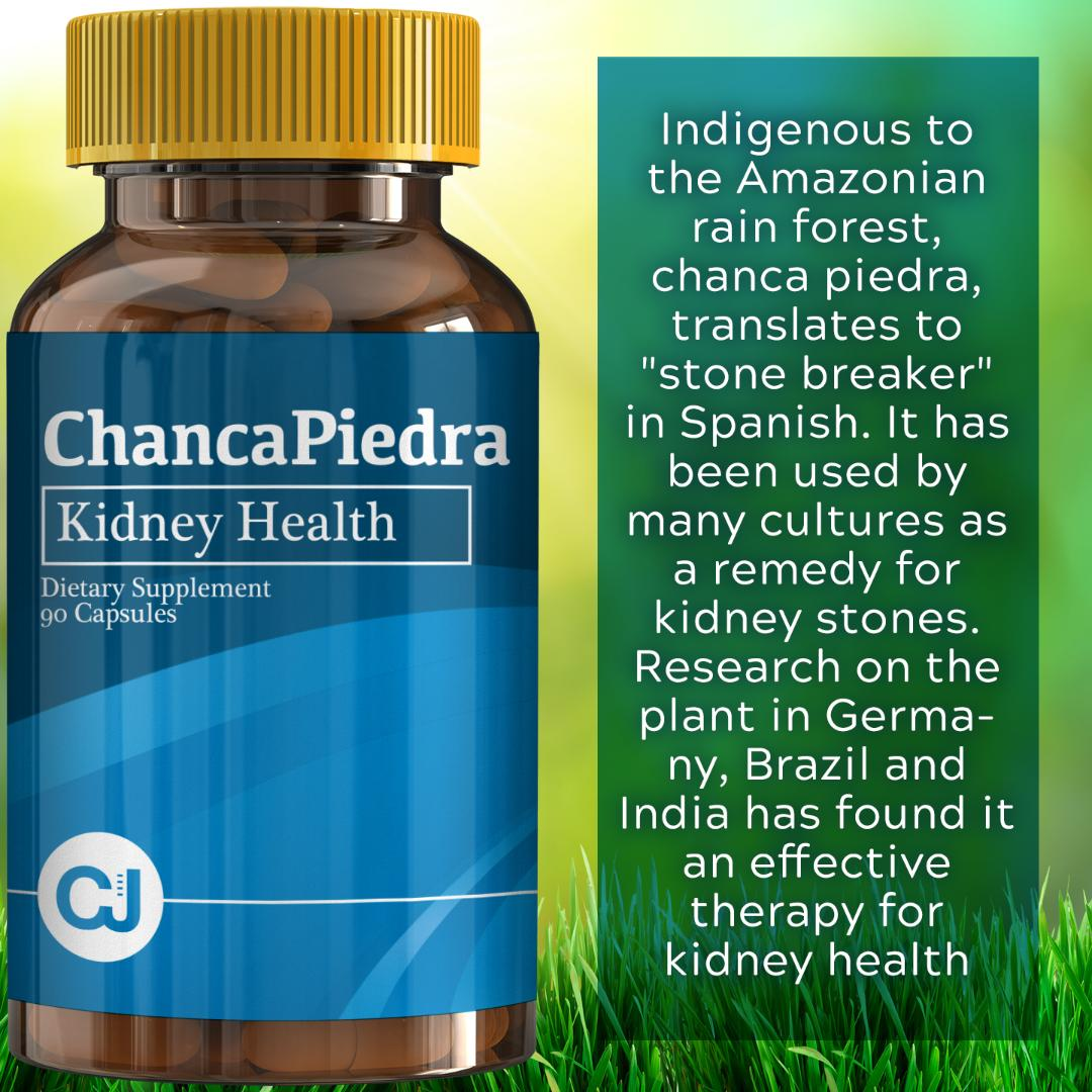 Chanca Piedra 1000mg - 90 Caps (Stone breaker) | Digestive Supplement for Kidney and Urinary Health