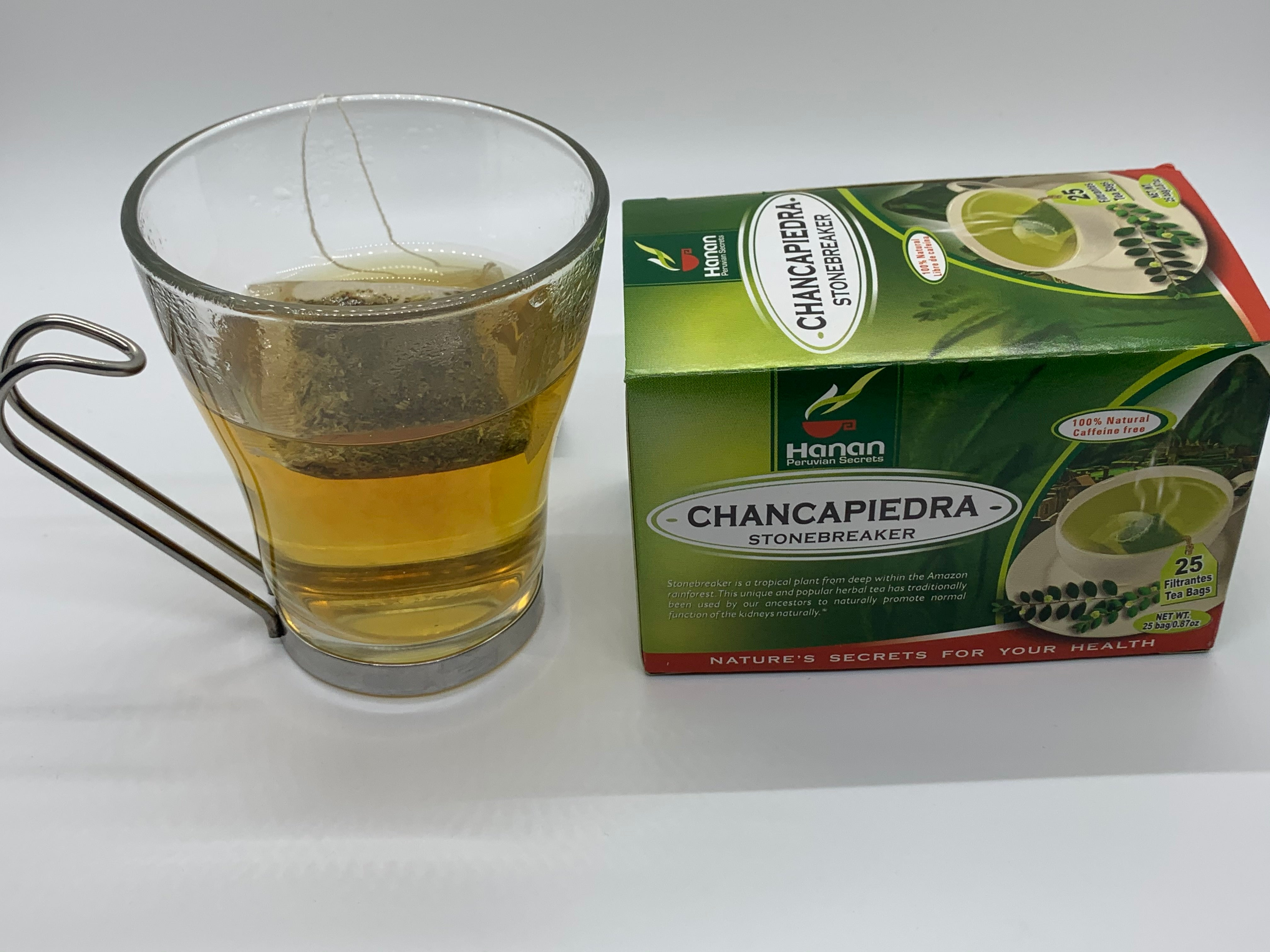 Chanca Piedra Tea (Stonebreaker) - 25 Teabags - for Kidney and Urinary Health