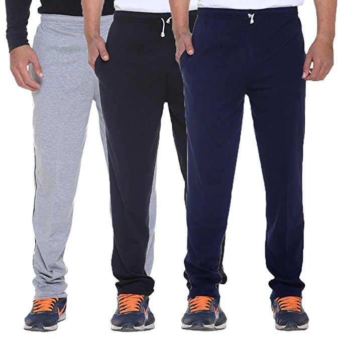 Rocker Series Track Pants (Pack of 3)-100% Cotton Certified