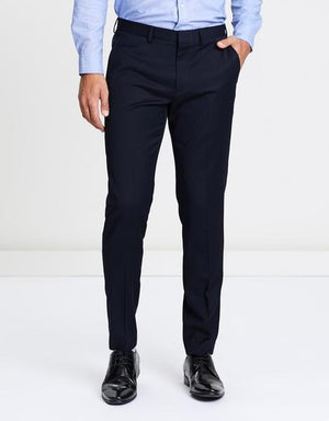Combo- Colour Blues Elite Men's Trouser- Set of 2 Trousers (Black & Navy Blue)