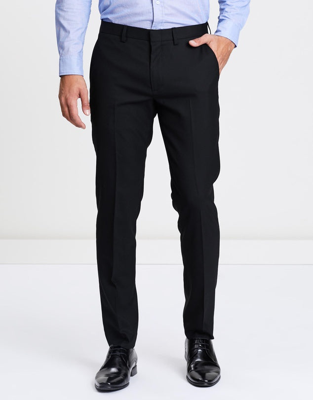TrendSetter India Elite Men's Trouser- Jet Black (Premium Edition)