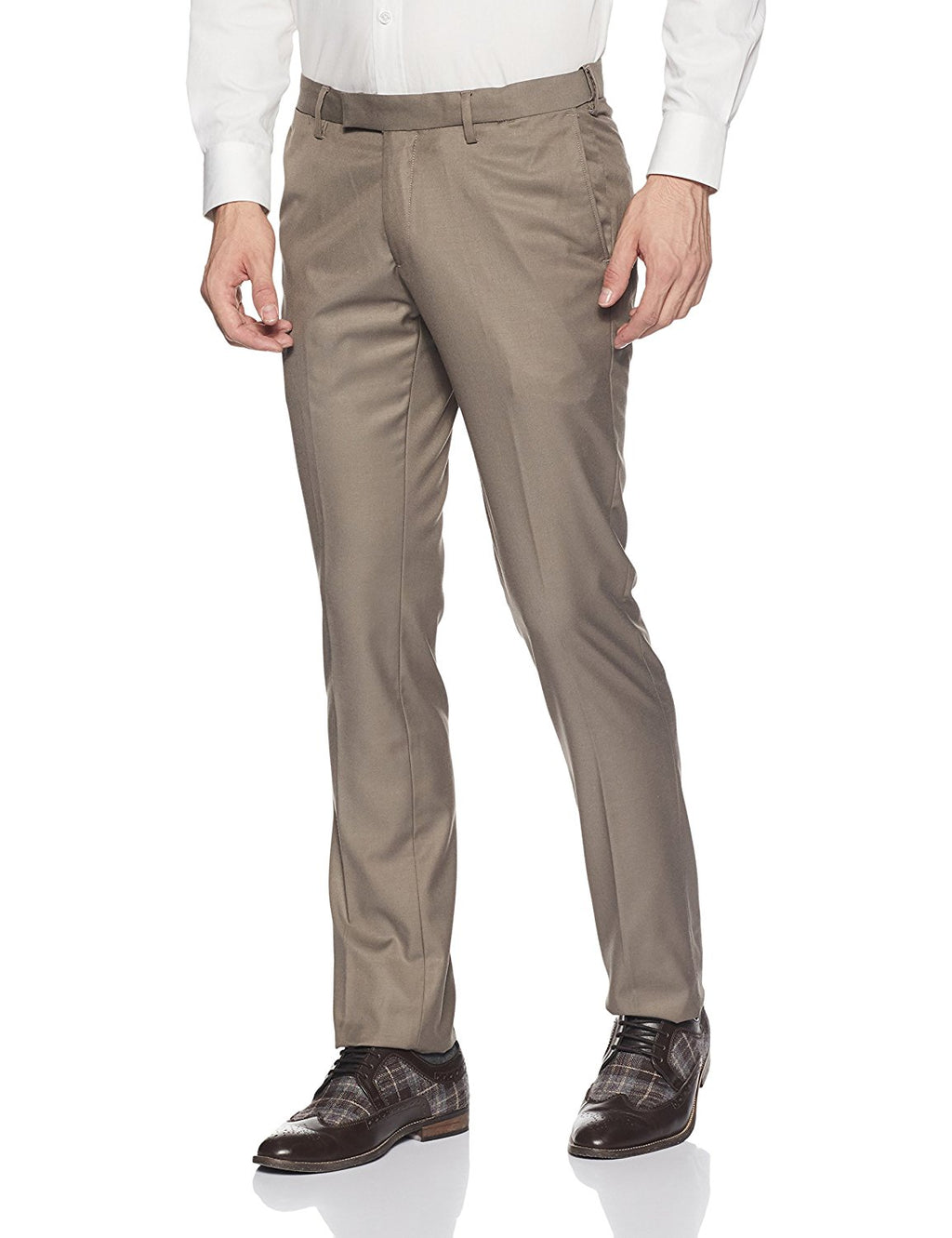 TrendSetter India Elite Men's Trouser- Golden Brown (Premium Edition)
