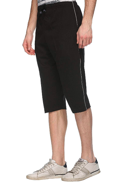 Rocker Series Capri For Men- Black