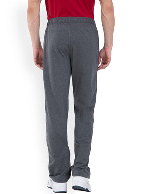 Rocker Series Track Pants For Men- Charcoal Black
