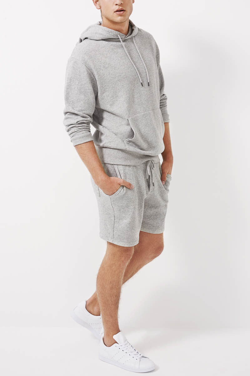 Rocker Series Shorts For Men- Ash Grey