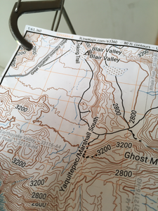 Blank Durable Map Paper