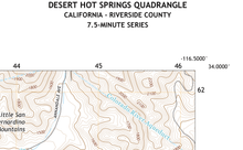 Desert Hot Springs Quadrangle