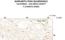 Margarita Peak Quadrangle