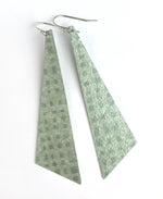 Load image into Gallery viewer, Playful Green Lightweight Statement Earrings