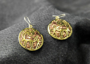 Earrings #B2007 - HANDMADE ARMENIA INC.