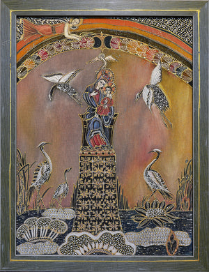 "PANNO ""MARIAM AND STORKS"" - HANDMADE ARMENIA INC."