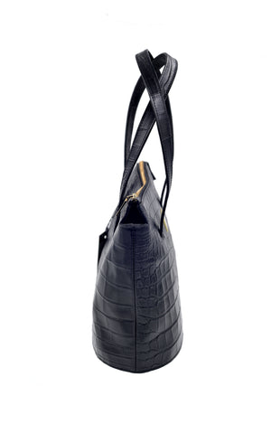 Hobo bag channel with a zip closure. Italian leather. Handcrafted to order.