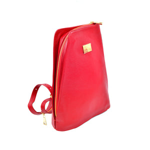Beautiful, compact and practical backpack purse. Italian leather. Handcrafted to order