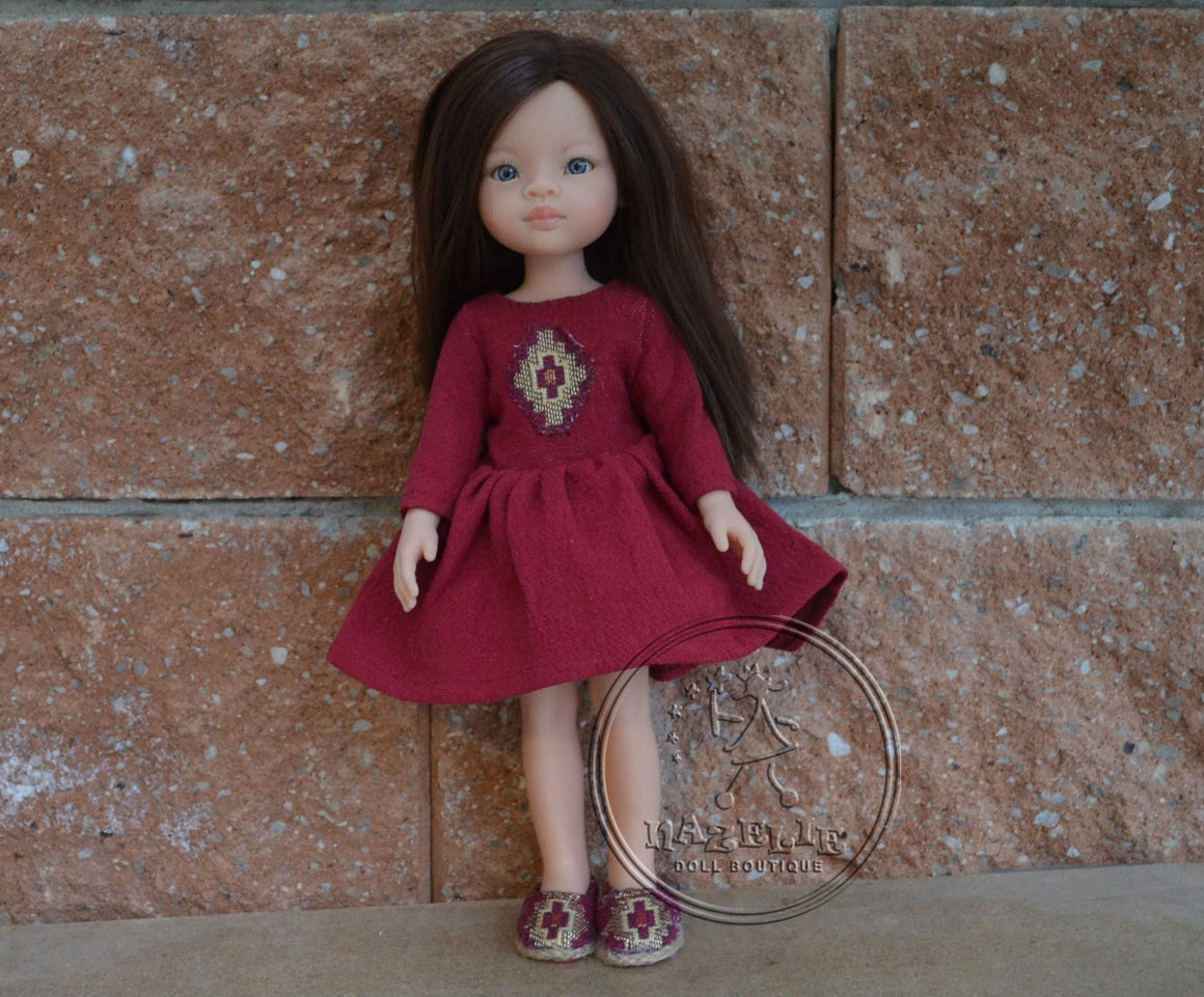 DOLL IN APPAREL AND ACCESSORIES BY NAZELIE POGHOSYAN (NP-10) - HANDMADE ARMENIA INC.