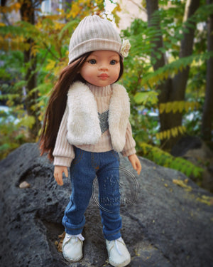 DOLL IN APPAREL AND ACCESSORIES BY NAZELIE POGHOSYAN (NP-14) - HANDMADE ARMENIA INC.