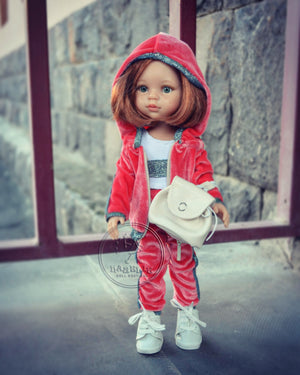DOLL IN APPAREL AND ACCESSORIES BY NAZELIE POGHOSYAN (NP-17) - HANDMADE ARMENIA INC.