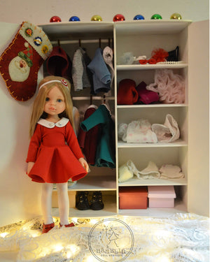 DOLL IN APPAREL AND ACCESSORIES BY NAZELIE POGHOSYAN (NP-22) - HANDMADE ARMENIA INC.