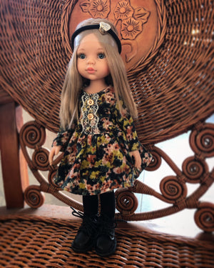 DOLL IN APPAREL AND ACCESSORIES BY NAZELIE POGHOSYAN (NP-23) - HANDMADE ARMENIA INC.