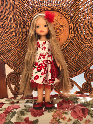 DOLL IN APPAREL AND ACCESSORIES BY NAZELIE POGHOSYAN (NP-26) - HANDMADE ARMENIA INC.