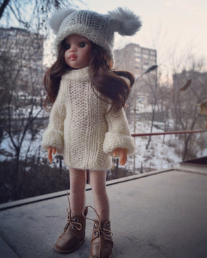 DOLL IN APPAREL AND ACCESSORIES BY NAZELIE POGHOSYAN (NP-27) - HANDMADE ARMENIA INC.