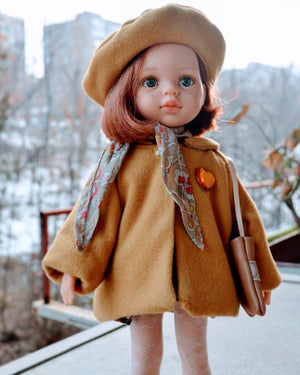 DOLL IN APPAREL AND ACCESSORIES BY NAZELIE POGHOSYAN (NP-28) - HANDMADE ARMENIA INC.