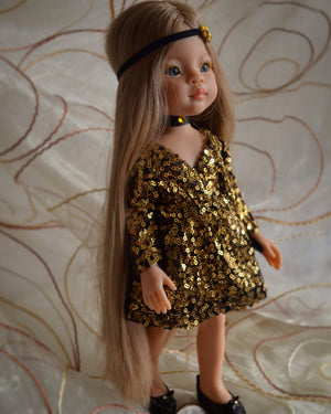 DOLL IN APPAREL AND ACCESSORIES BY NAZELIE POGHOSYAN (NP-29) - HANDMADE ARMENIA INC.
