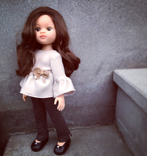 DOLL IN APPAREL AND ACCESSORIES BY NAZELIE POGHOSYAN (NP-30) - HANDMADE ARMENIA INC.