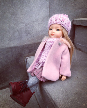 DOLL IN APPAREL AND ACCESSORIES BY NAZELIE POGHOSYAN (NP-32) - HANDMADE ARMENIA INC.