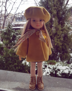 DOLL IN APPAREL AND ACCESSORIES BY NAZELIE POGHOSYAN (NP-33) - HANDMADE ARMENIA INC.