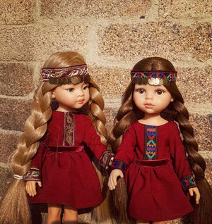 DOLL IN APPAREL AND ACCESSORIES BY NAZELIE POGHOSYAN (NP-34) - HANDMADE ARMENIA INC.
