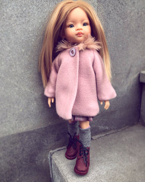 DOLL IN APPAREL AND ACCESSORIES BY NAZELIE POGHOSYAN (NP-35) - HANDMADE ARMENIA INC.