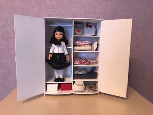 DOLL IN APPAREL AND ACCESSORIES BY NAZELIE POGHOSYAN (NP-40) - HANDMADE ARMENIA INC.