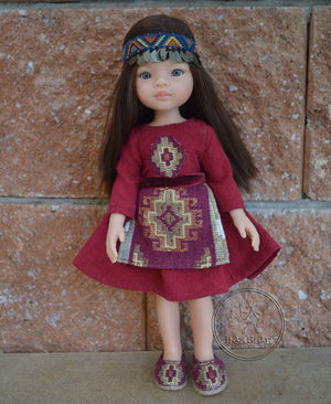 DOLL IN APPAREL AND ACCESSORIES BY NAZELIE POGHOSYAN (NP-7) - HANDMADE ARMENIA INC.
