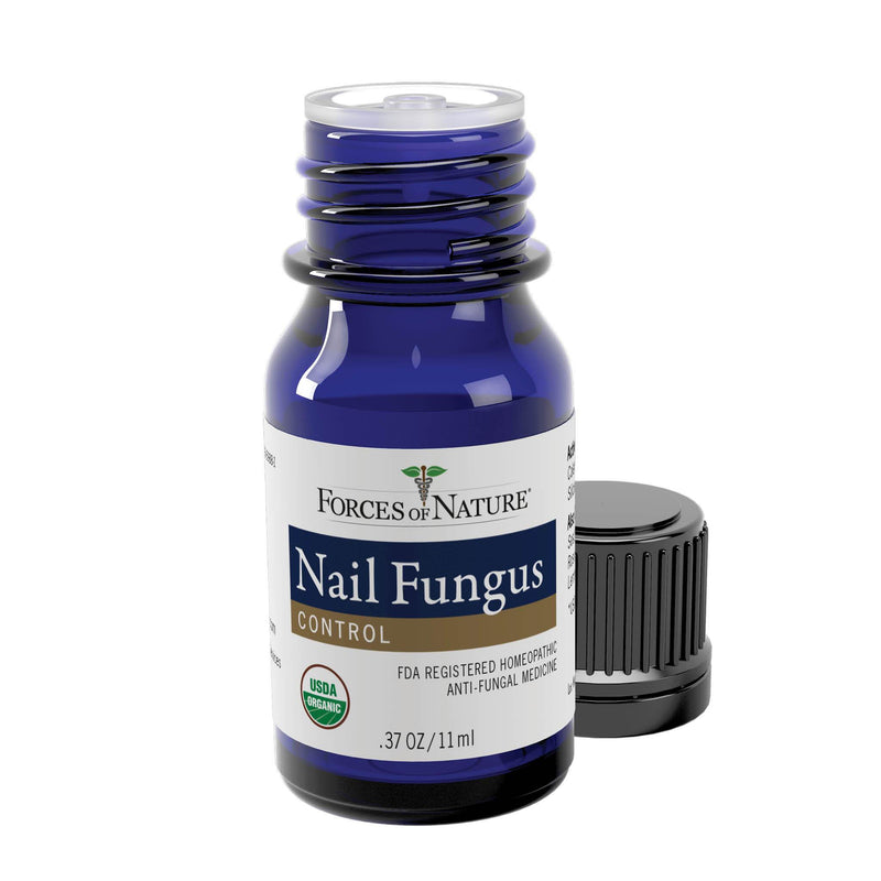 Natural Nail Fungus Treatment 11ml Bottle | Forces of Nature Organic Medicine