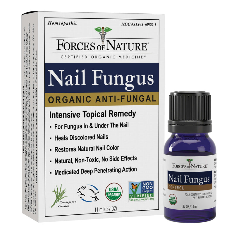 Natural Nail Fungus Treatment 11ml | Forces of Nature Organic Medicine