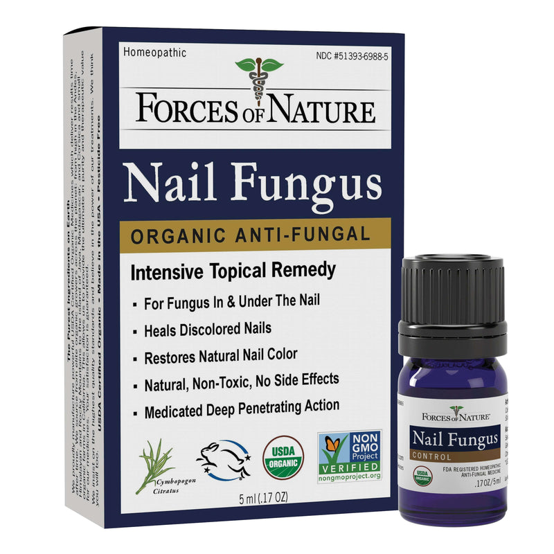 Natural Nail Fungus Treatment 5ml | Forces of Nature Organic Medicine